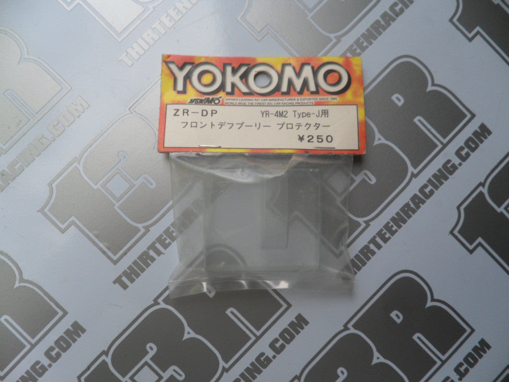 Yokomo YR-4M2 Type-J Clear Bulkhead Cover, ZR-DP