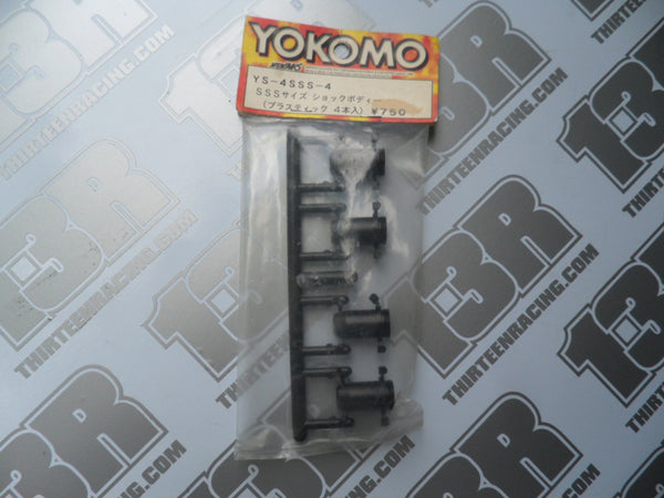 Yokomo SSS Plastic Shock Body Set (4pcs), YS-4SSS-4, MR-4 TC