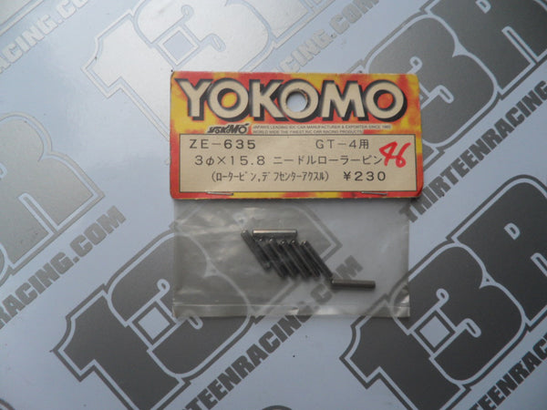Yokomo GT-4 3 x 15,8mm Roller Pin (8pcs), ZE-635