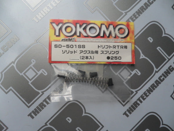 Yokomo MR-4 TC SD Solid Axle Spring For RTR (2pcs), SD-501SS