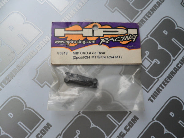 HPI Racing MIP CVD Rear Axle (2pcs), # 80818, RS4 MT, Nitro RS4 MT, MT2, Rush