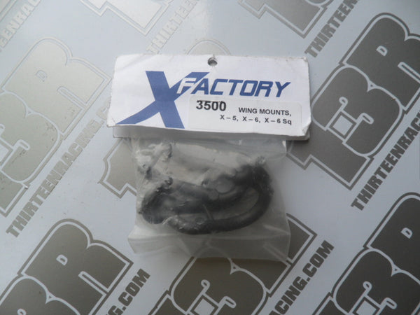 X-Factory X-6 Wing Mounts (Pr), # 3500, X-5, X-6 Squared, X-6 Cubed