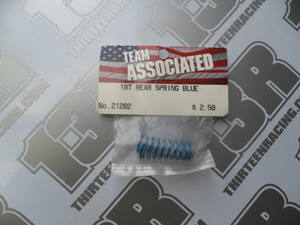 Team Associated RC18 Rear Blue Springs 1.90lb (2pcs),# 21202, RC18T, B2, T2