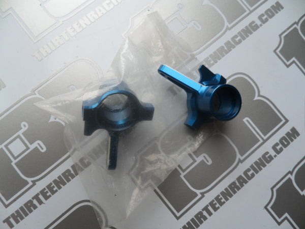 Team Associated RC8 Factory Team Machined Aluminium Steering Blocks (Pr) - NEW LOOSE, # 89380, RC8T, SC8