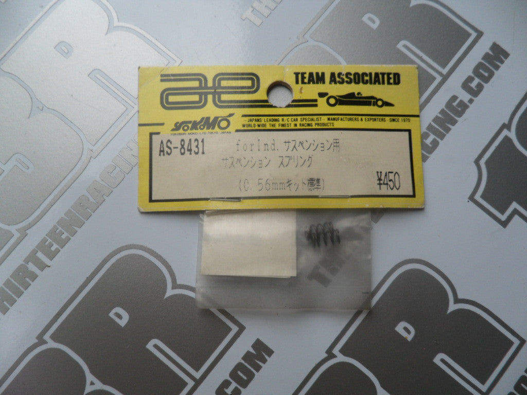 Team Associated .022 In Springs (2pcs), # 8431, RC10L3, R5