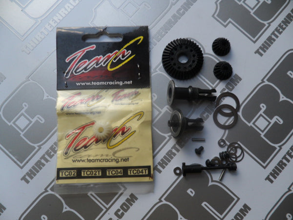 Team C TM2 Mixed Lot Of Ball Diff Parts - Used