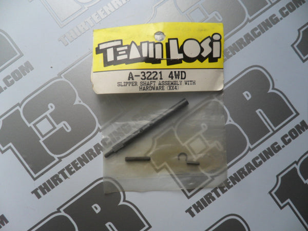 Team Losi XX4 Slipper Shaft Assembly With Hardware, A-3221, Street Weapon, Rally Weapon