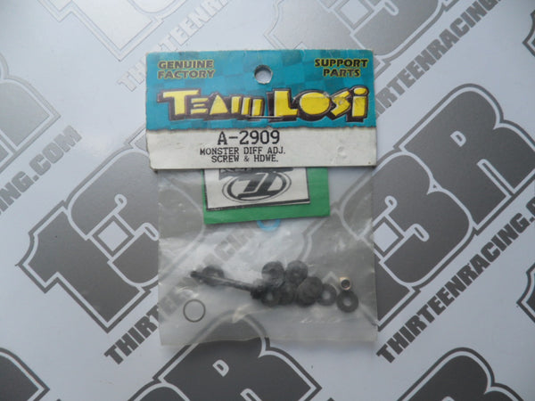 Team Losi Monster Diff Adj. Screw & Hardware, LOSA2909, XXX-4, XXX-S, XXX-NT