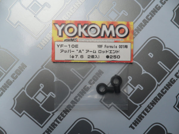 Yokomo YRF 001W F1 Upper Arm Rod End (2pcs), YF-10E