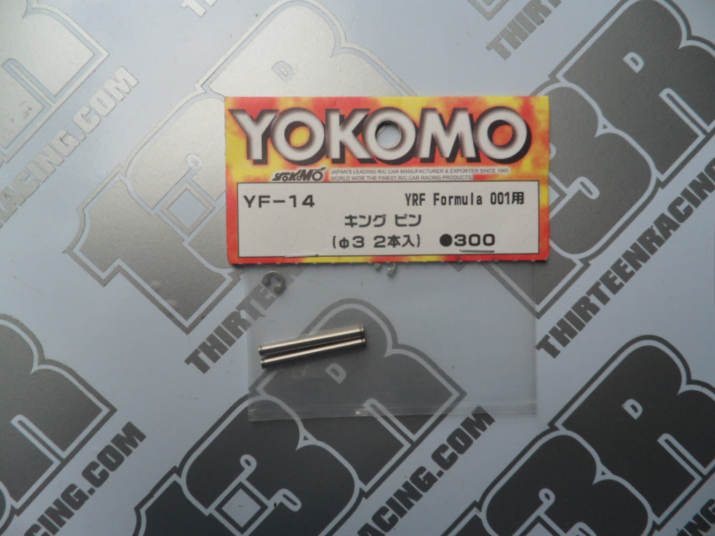 Yokomo YRF 001W F1 King Pin (2pcs), YF-14