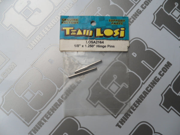 Team Losi Outer Rear Hinge Pins (2pcs) A-2164, XX, XXT, XX4, XXX, XXXT, XXX4, Street Weapon
