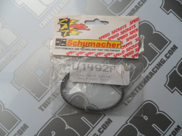 Schumacher CAT 2000/SST 6mm Rear Drive Belt, U1492F, EC, SE, 98, 99, Sport