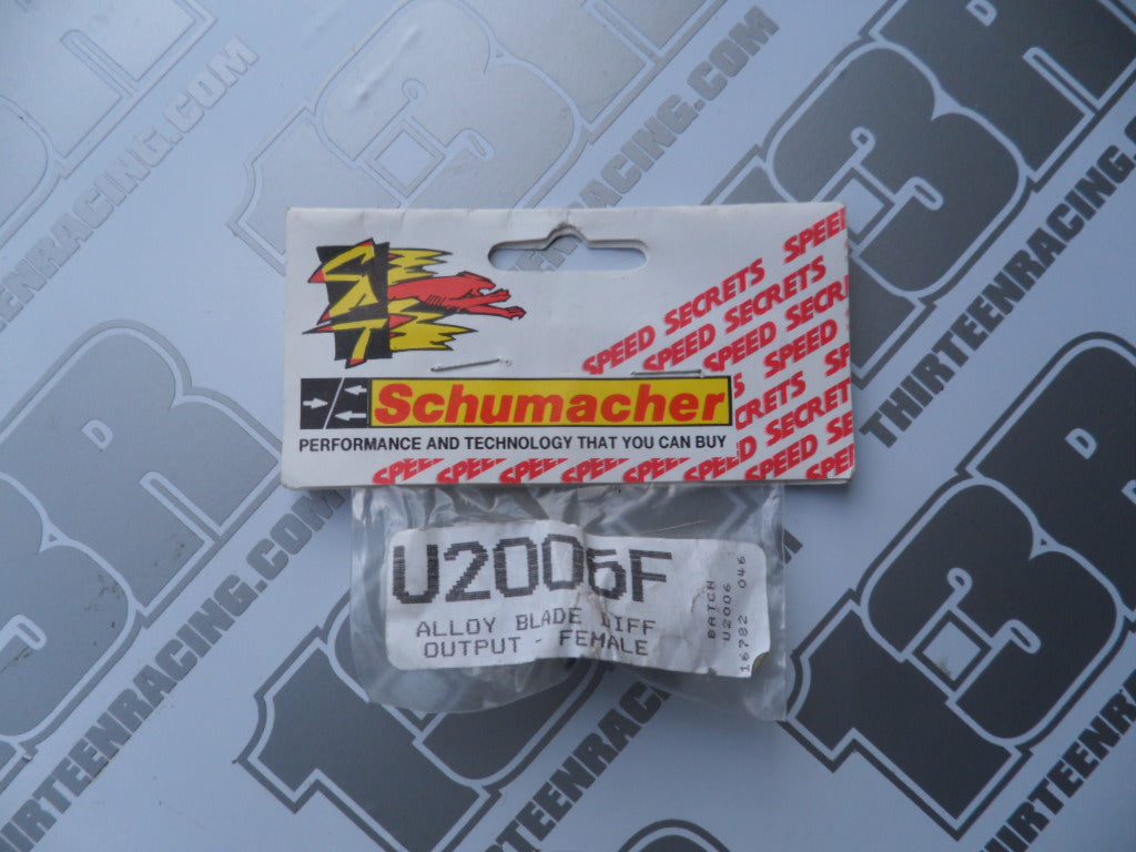 Schumacher Alloy Blade Differential Output - Female, U2006F