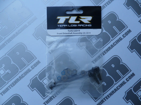 TLR 22-4 Front Driveshaft Assembly (2), TLR232019