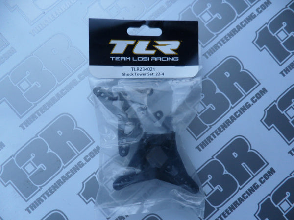 TLR 22-4 Front & Rear Shock Tower Set, TLR234021, 22-4 2.0