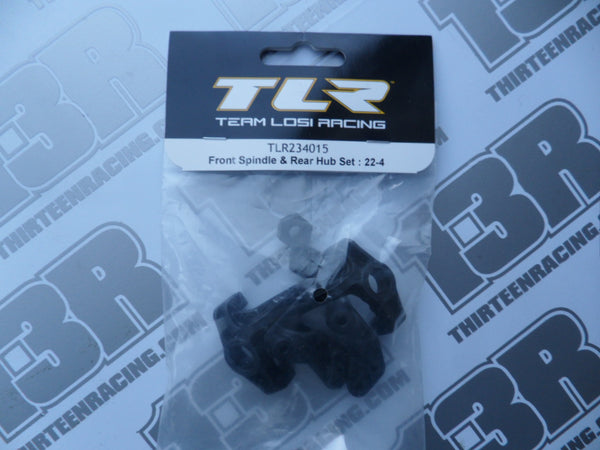 TLR 22-4 Front Spindle & Rear Hub Set, TLR234015