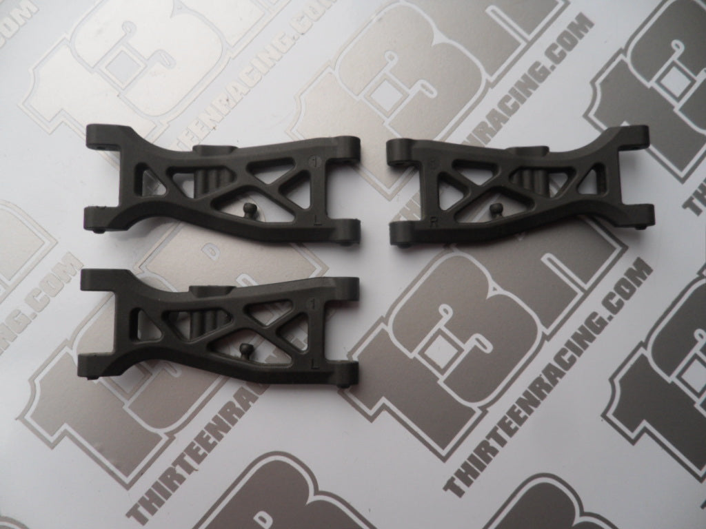 Yokomo YZ-4 +1mm Graphite Gullwing Front Suspension Arms (1) - Used (3pcs), Z4-008FG1
