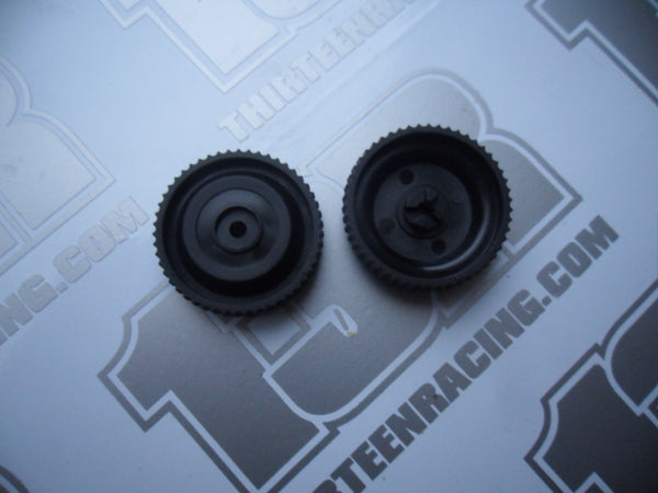Schumacher CAT XLS Masami 51T Rear Side Pulleys (Pr) - New Loose, U7204