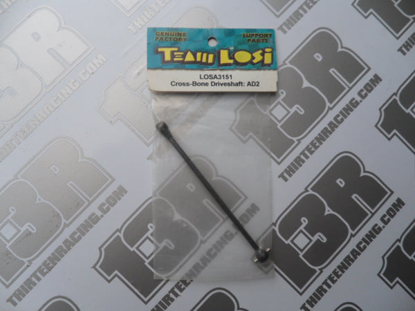 Team Losi XXX-NT AD2 Cross-Bone Driveshaft, LOSA3151