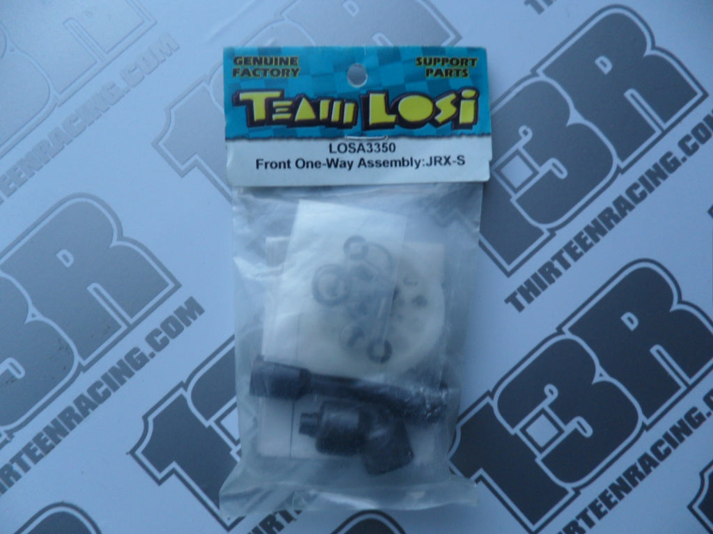 Team Losi JRX-S Front One Way Assembly, LOSA3350