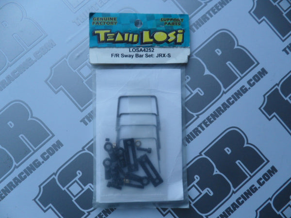 Team Losi JRX-S Front/Rear Sway Bar Set, LOSA4252