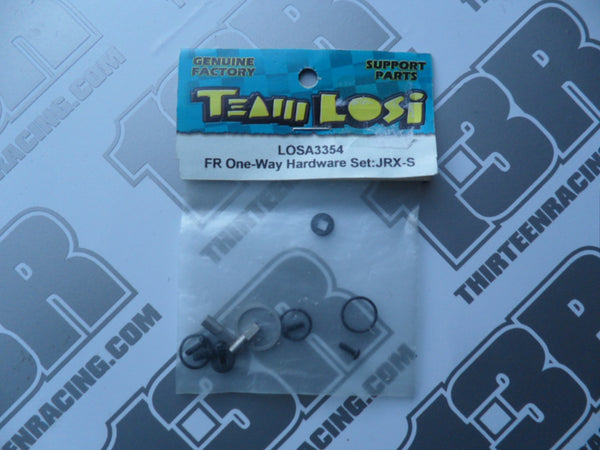 Team Losi JRX-S Front One-Way Hardware Set, LOSA3354