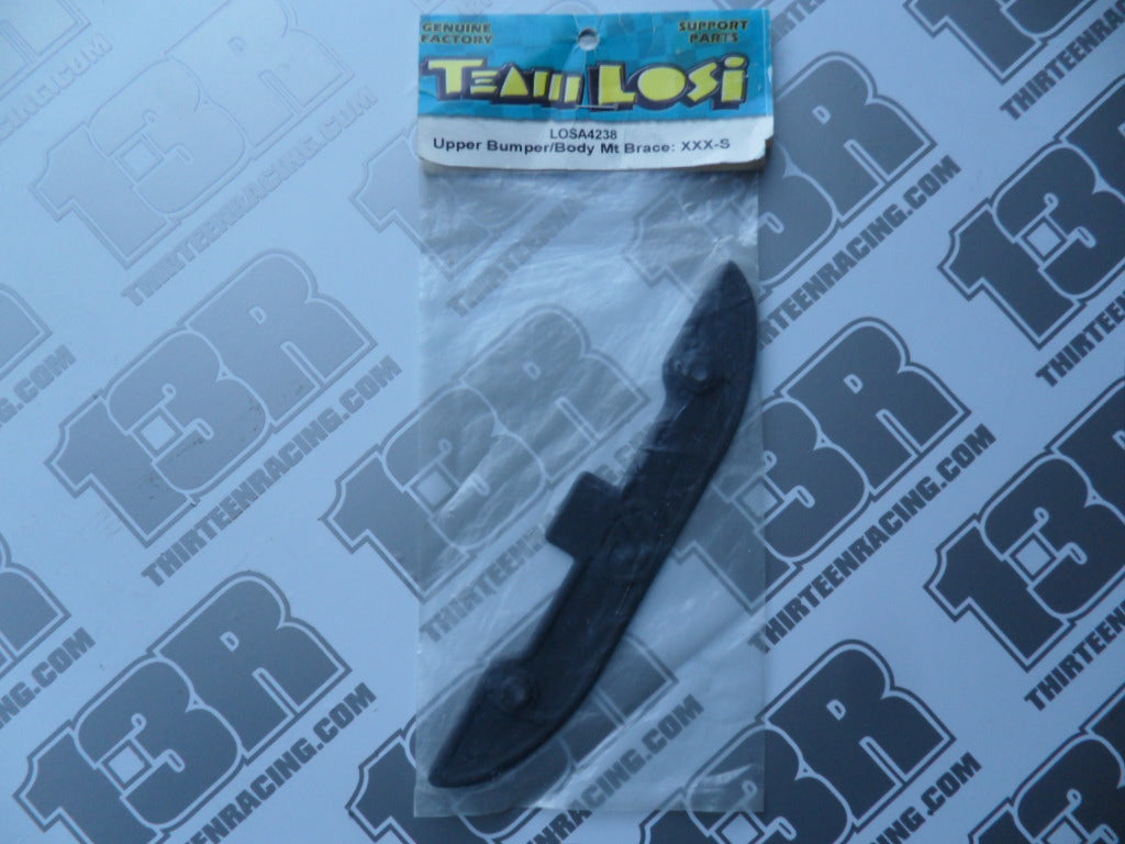 Team Losi XXX-S Upper Bumper/Body Mount Brace, LOSA4238