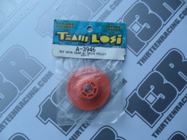 Team Losi XXX-S 90T 48dp Spur Gear & Pulley, A-3946