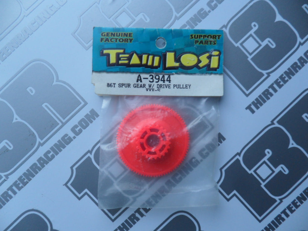 Team Losi XXX-S 86T 48dp Spur Gear & Pulley, A-3944