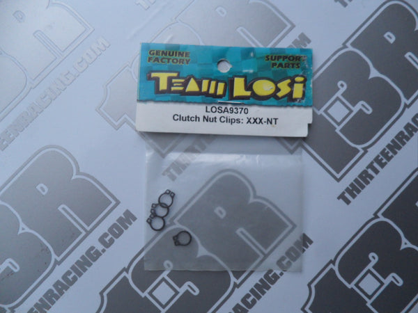 Team Losi XXX-NT Clutch Nut Clips, LOSA9370