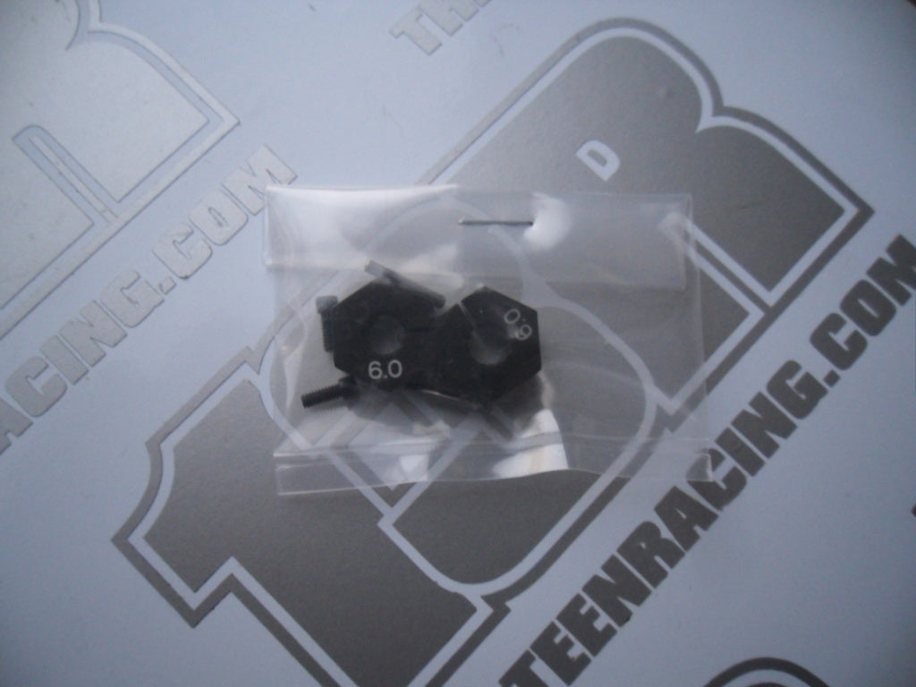 Yokomo YZ-2 Aluminium 6mm Rear Wheel Hubs - New Loose, Z2-011R6, YZ-4
