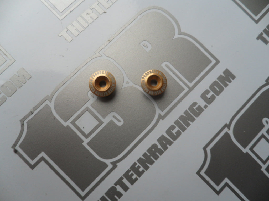 Team Durango DEX210 RDRP Gold Aluminium Chassis Bushings - Used, DESC210, DEST210