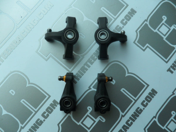 Team Durango DEX410 Front & Rear Hub Carriers With Bearings & Hardware - Used, 2010, R