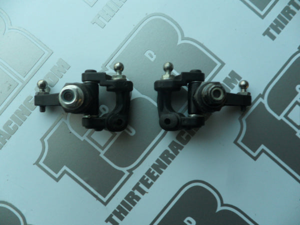 Kyosho RB6 Front Spindles/C Hubs With Axles, Hexes & Hardware - Used