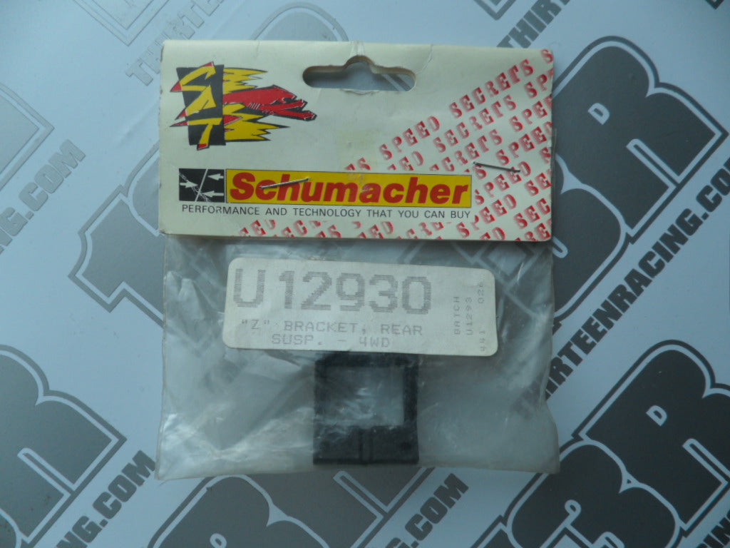 "Schumacher Bosscat ""Z"" Rear Suspension Bracket, U1293O"