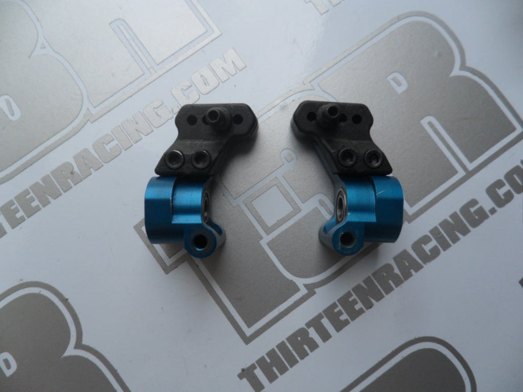 Team Associated 0 Deg Aluminium Rear Hubs - Used, # 9864, B4/.1/.2, B44/.1/.2/.3, T4, SC10