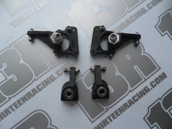 Team Losi XXX Front Hubs, Spindles, Axles & Rear Hubs With Hardware - Used