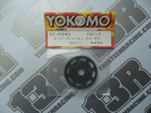 Yokomo 80T 48dp Spur Gear, ZC-PS80