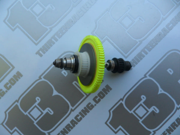 Team Losi XX4 Complete Slipper Clutch Unit & One Way Clicker With Aluminium Layshaft - used