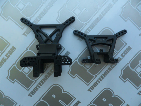 Team Losi XX4 Stiffezel Front & Rear Shock towers - Used