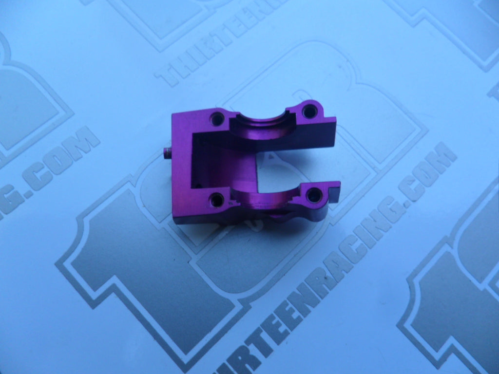 Schumacher CAT 2000/SST Purple Alloy Front Lower Transmission Housing - Used, U1745Z, CAT 3000, 98, Axis