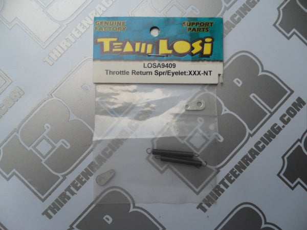 Team Losi Throttle Return Spring & Eyelets, LOSA9409, XXX-NT, NXT, GTX