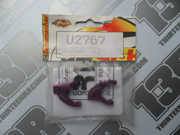 Schumacher Fusion Purple Alloy Upper Wishbones (Pr), U2767, 21, 28, R12