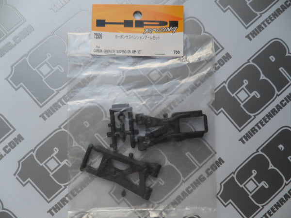 HPI Racing Pro 4 Carbon Graphite Suspension Arm Set, # 73506