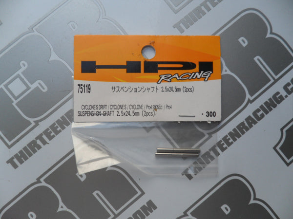 HPI Racing Pro 4 Suspension Shaft 2.5x24.5mm (2pcs), # 75119