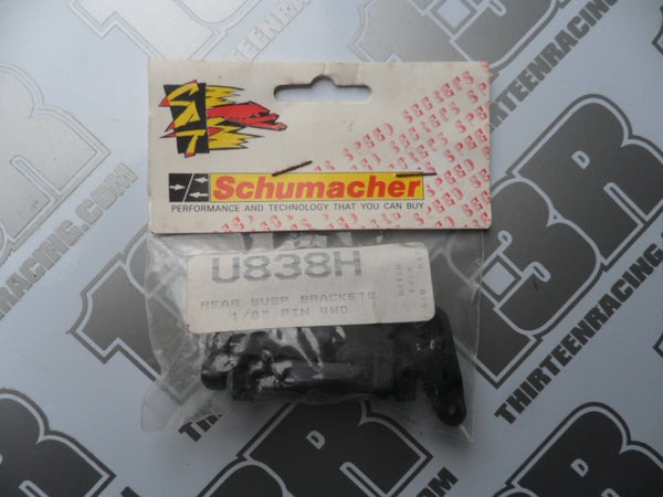"Schumacher Bosscat Rear Suspension Brackets 1/8"" Pin Type, U838H, Procat"
