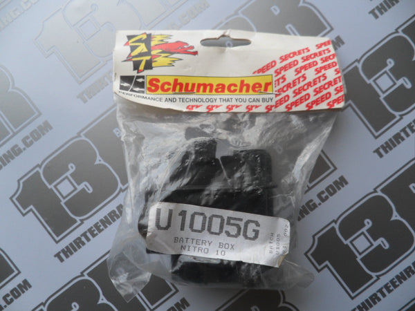 Schumacher Nitro 10/21 Battery Box, U1005G