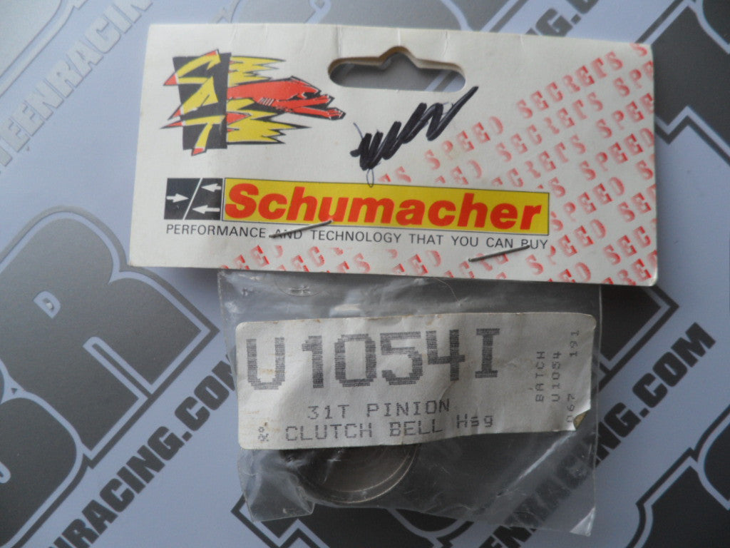 Schumacher Nitro 31T Pinion Clutch Bell Housing, U1054I
