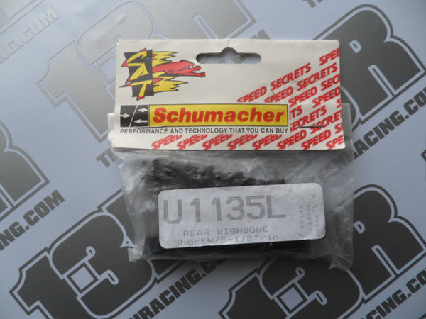 "Schumacher Rear Wishbones, 1/8"" Pin - Short W/B (2), U1135L"