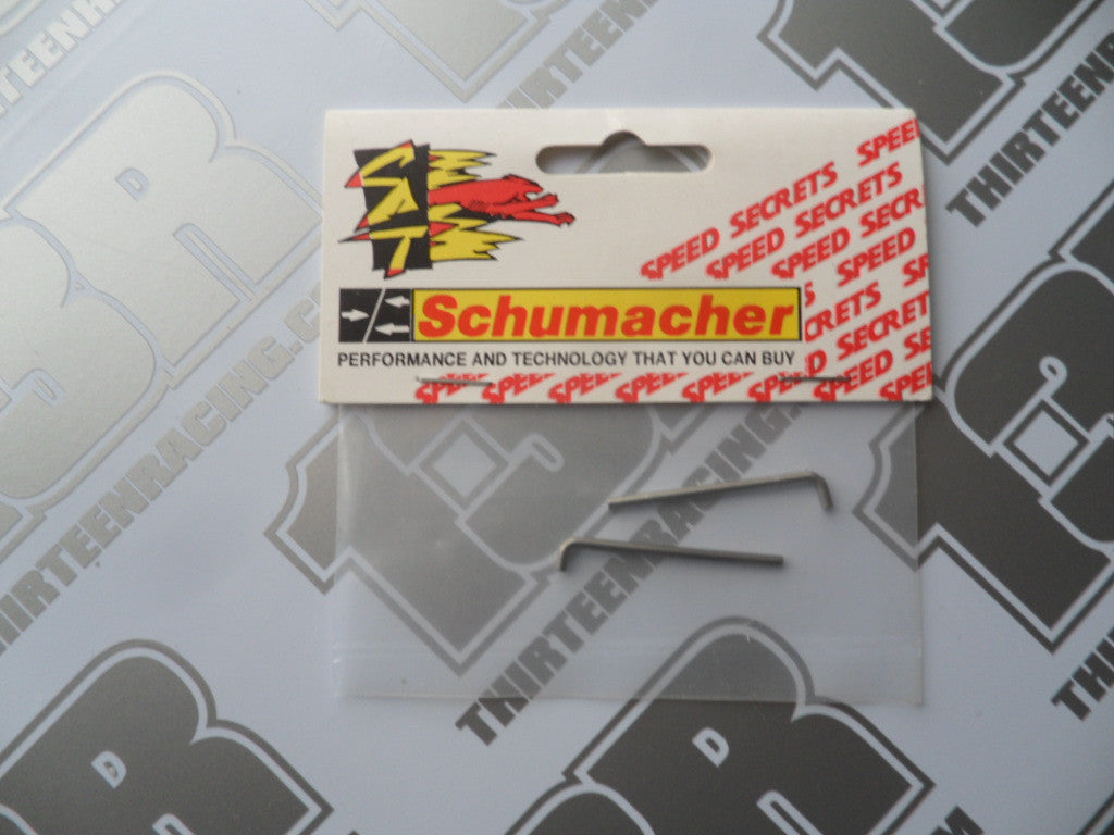 Schumacher Pivot Pins - 34mm - Bent (2pcs), U1246T